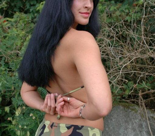 military strip 080