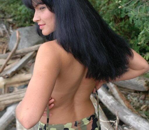 military strip 095