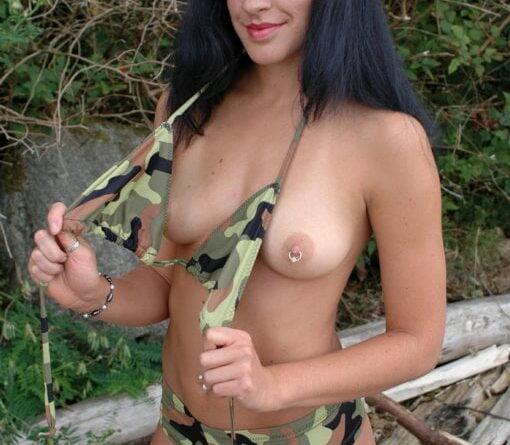 military strip 104