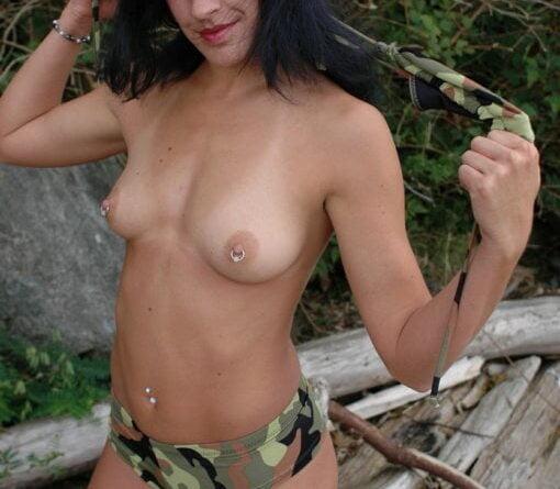 military strip 105