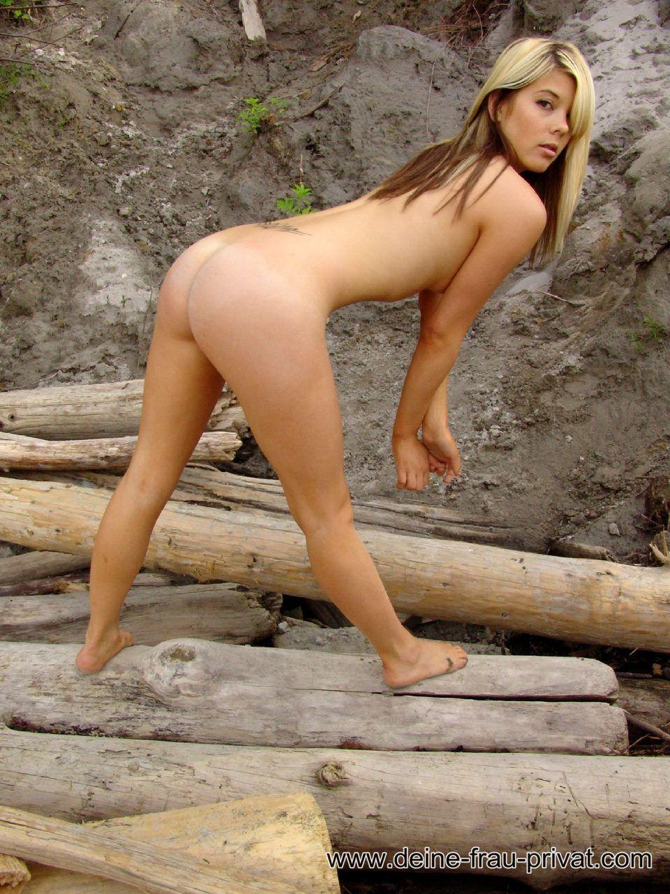 Frau Nackt Natur