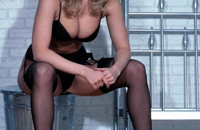sexy schwarze dessous 001
