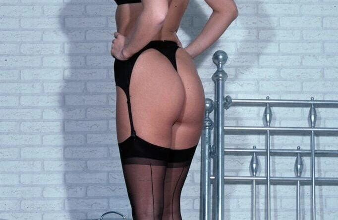 sexy schwarze dessous 009